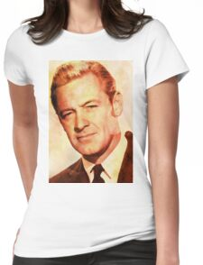 William Holden, Vintage Hollywood Actor Womens Fitted T-Shirt