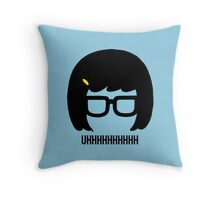 Tina Uhhhhh Throw Pillow
