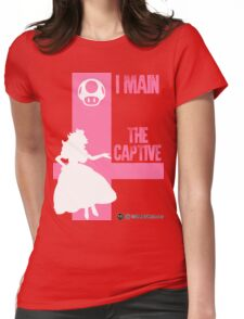 The Captive (White) Womens Fitted T-Shirt