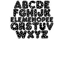 Elemenopee Alphabet Funny Photographic Print