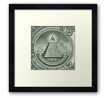 Illuminati and Biscuits Framed Print