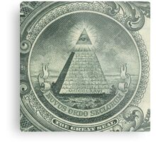 Illuminati and Biscuits Metal Print