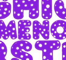 Elemenopee Alphabet Funny Sticker