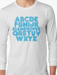 Elemenopee Alphabet Funny Long Sleeve T-Shirt
