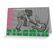 Scott Pigrim vs The Clash Greeting Card