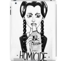 Wednesday Addams- Homicide iPad Case/Skin