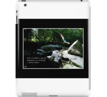 Daring Adventure Fine Art Poster iPad Case/Skin
