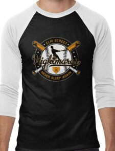 Elm St. Nightmares Men's Baseball ¾ T-Shirt