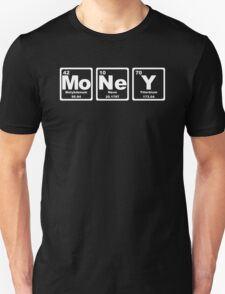 Money - Periodic Table Unisex T-Shirt