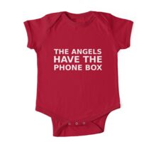 The Angels Have The Phone Box One Piece - Short Sleeve