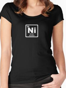 Ni - Periodic Table Women's Fitted Scoop T-Shirt