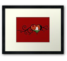 Moomin True Love Framed Print