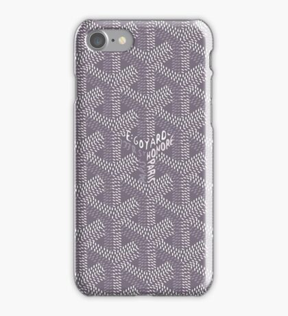 Goyard gris souris iPhone Case/Skin