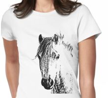 Horse Love Womens Fitted T-Shirt