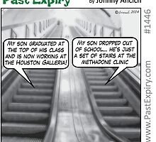 Cartoon : Escalator Envy by cartoon