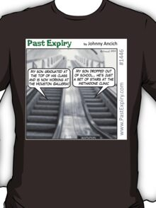 Cartoon : Escalator Envy T-Shirt