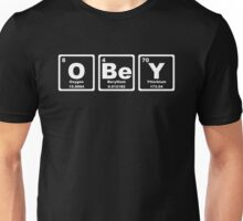 Obey - Periodic Table Unisex T-Shirt