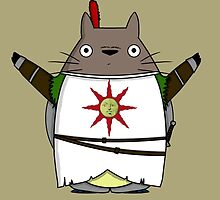 Totoro praise the sun by Ednathum