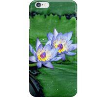 Blue lotus iPhone Case/Skin