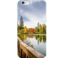 Mirror Pond Boardwalk iPhone Case/Skin