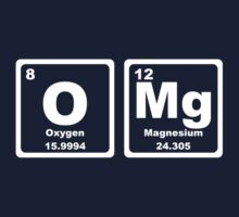 OMG - Periodic Table Kids Clothes
