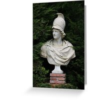 Bust of Alexander the Great Greeting Card