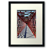 Eiffel bridge Gerona  Framed Print