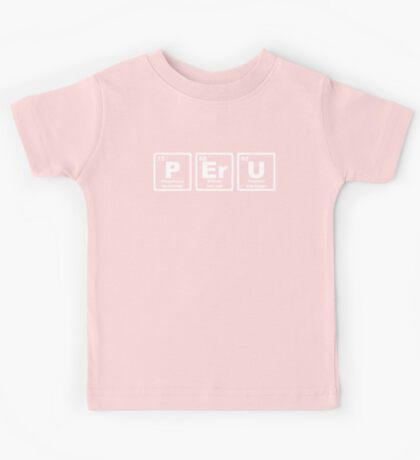 Peru - Periodic Table Kids Tee