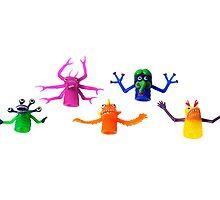 Monster Squad by kitschbitsch