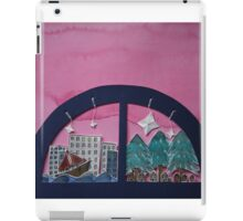 A Magical Watercolour and Paper Sculpture World. iPad Case/Skin