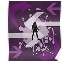 Hawkeye Arrow Print Poster