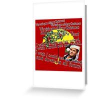 Barney Stinson - Merry Christmas Greeting Card