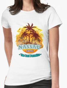 Nassau The Last Paradise Womens Fitted T-Shirt