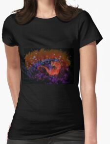 WDV - 103 - Mars Catting Womens Fitted T-Shirt