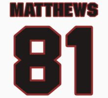 NFL Player Jordan Matthews eightyone 81 by imsport