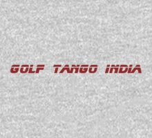Roger, Golf Tango India by initiala