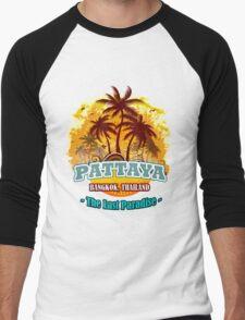 Pattaya The Last Paradise Men's Baseball ¾ T-Shirt