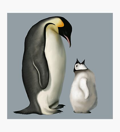 Mother Penguin Photographic Print