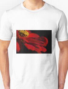 Red Petals  Unisex T-Shirt
