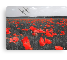 The Few - Includes donation to the Poppy Appeal Canvas Print