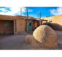 Taos Pueblo Study 7 Photographic Print