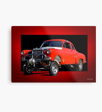 1951 Chevy 'B Gas' Gasser II Metal Print