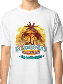 St. Thomas The Last Paradise Classic T-Shirt