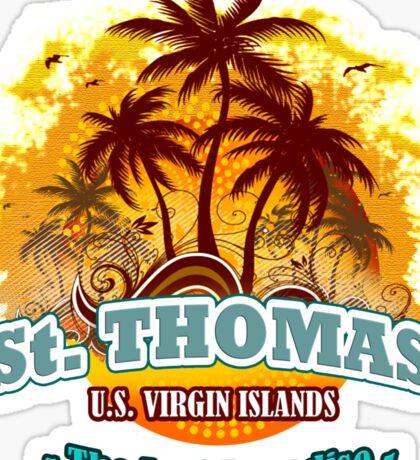 St. Thomas The Last Paradise Sticker