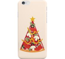 Pizza on Earth - Vegetarian iPhone Case/Skin