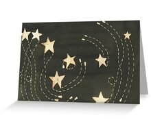Dancing Stars Greeting Card