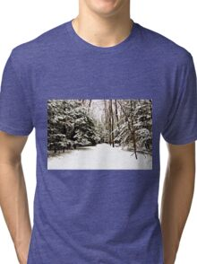 Virgin Snow Tri-blend T-Shirt