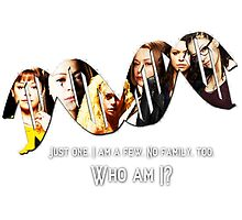 Who Am I?    Orphan Black  by linked-pinkies