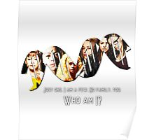 Who Am I? || Orphan Black  Poster