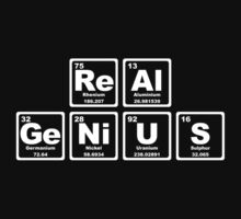 Real Genius - Periodic Table One Piece - Long Sleeve